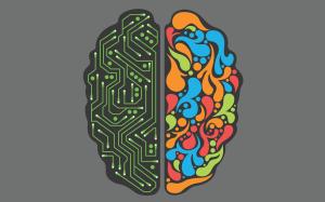 Hemispheres-abstract-brain-circuits-electronic-electronics-false-graffiti-incorrect-logic-minimalistic-vectors